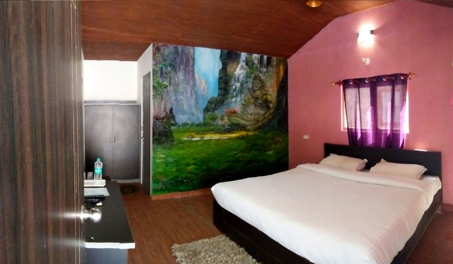 Deluxe Room at Kedar River Retreat
